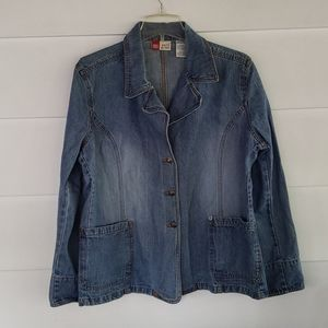 Faded glory Jean Jacket sz xl